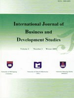 International Journal of Business and Development Studies